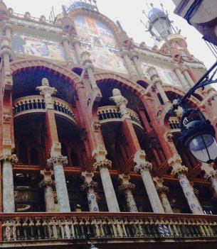 barcelona - musica building