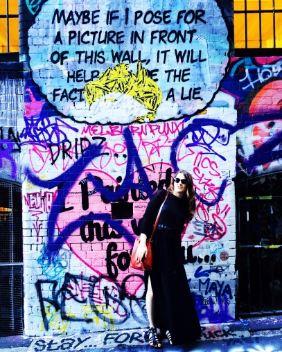posing - hosier lane